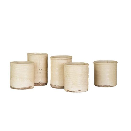 Creme Pots Multiple