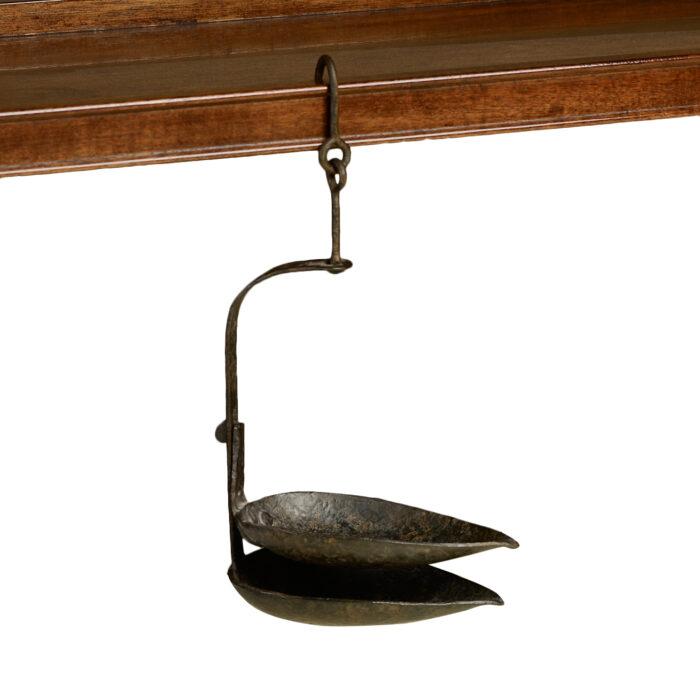 Iron Oil Lamp