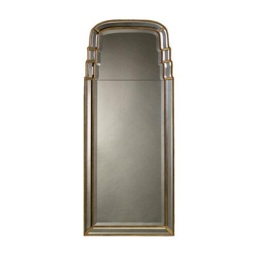 Tiered Queen Anne Mirror