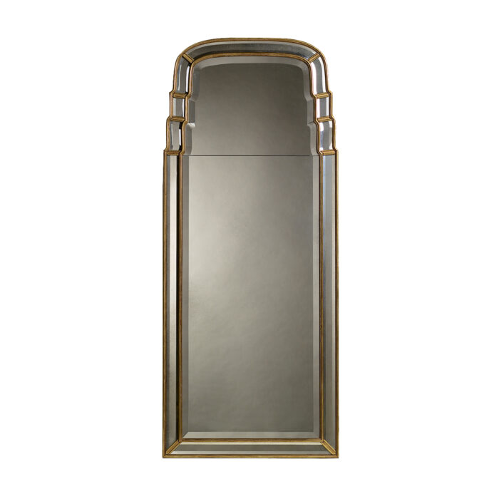 Tiered Queen Anne Mirror