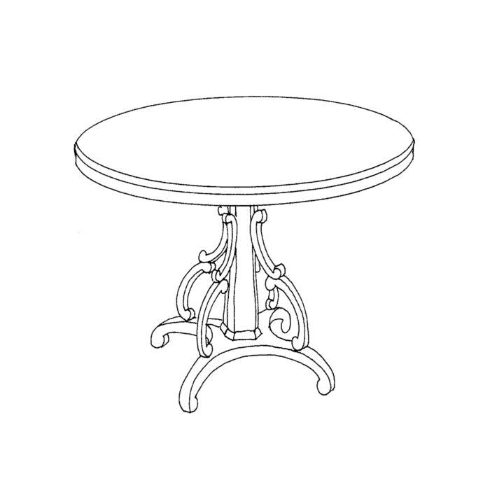 Nantucket Table Custom