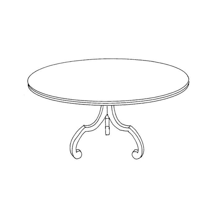 La Mer Table Custom 2