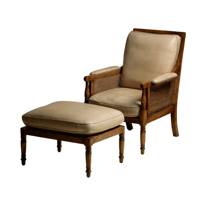 Georgian Caned Lounge Chair