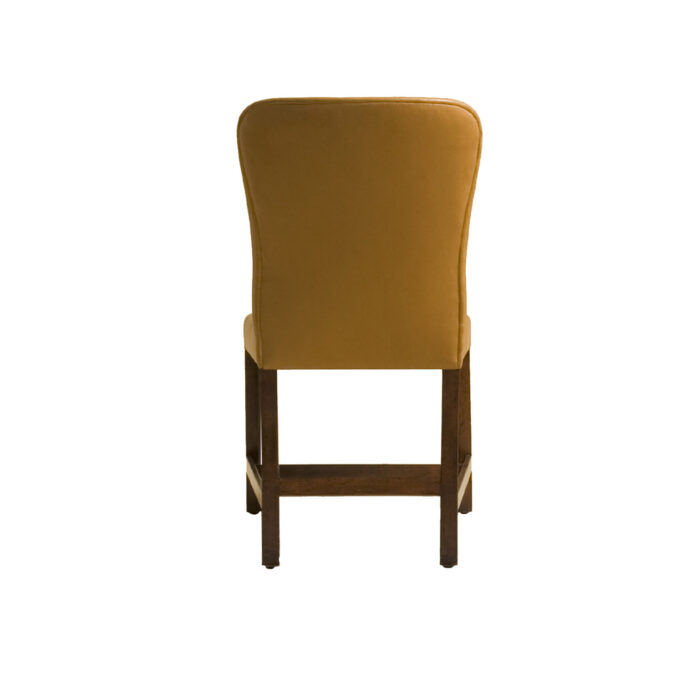 Chippendale Dining Side Chair - Small Back View