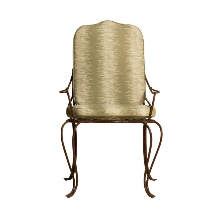Twig Iron Dining Arm Chair