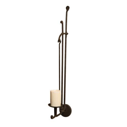Iron Candleholder Sconce