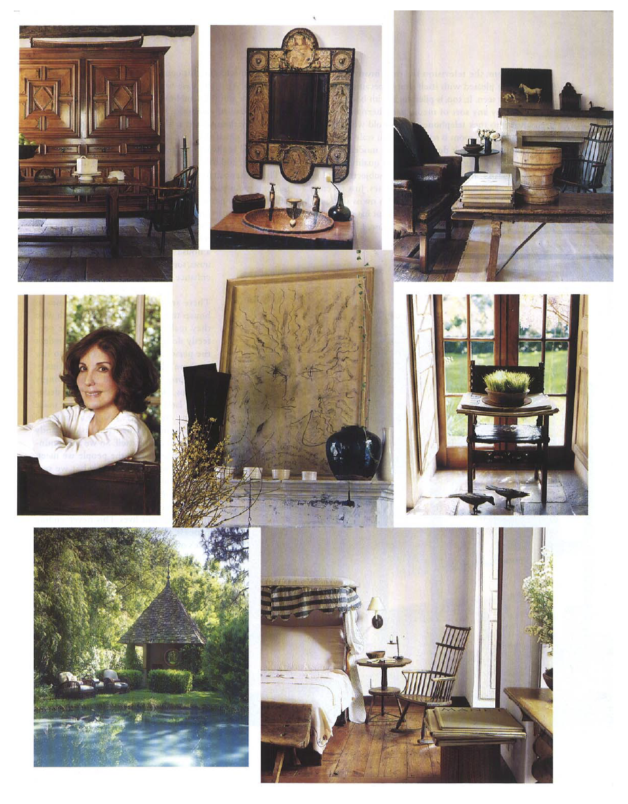 Town & Country Interior Image Collage